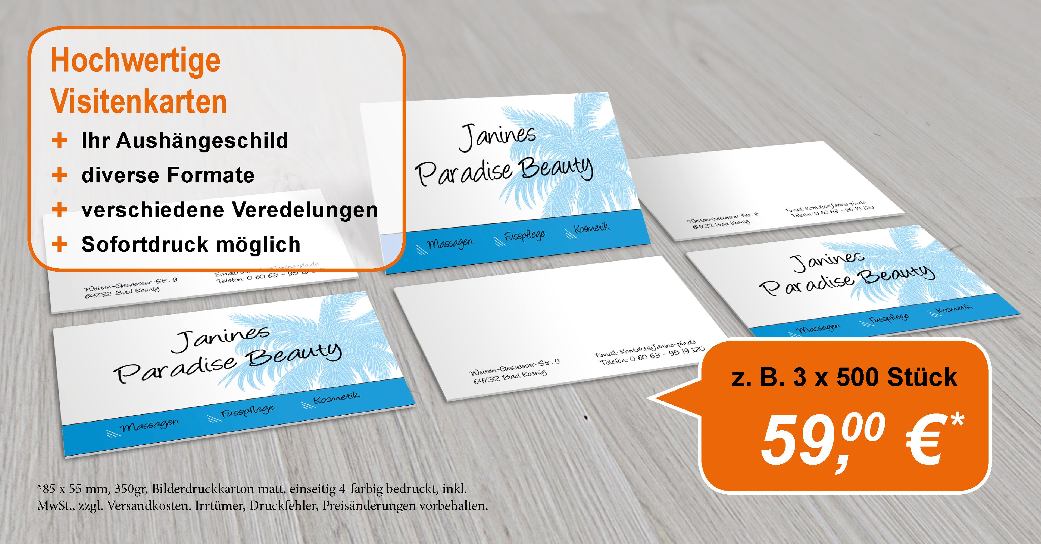 Visitenkarten Für Alle Druckpaten De